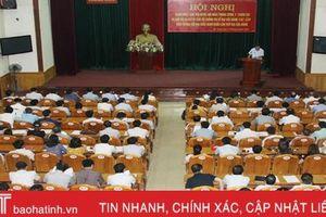 Đảng ủy Khối CCQ&DN Hà Tĩnh, các địa phương quán triệt Nghị quyết Trung ương 10