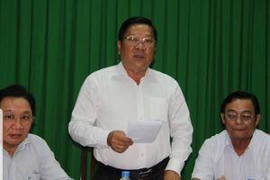 Sóc Trăng: Phó bí thư 'sửa lưng' Phó chủ tịch tỉnh vì nói mình đi du lịch với 'đại gia xăng giả' Trịnh Sướng
