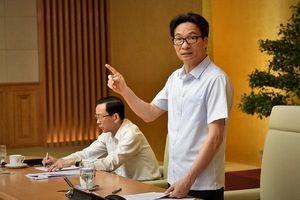 Phó Thủ tướng đốc thúc việc rà soát cắt giảm thực chất điều kiện kinh doanh