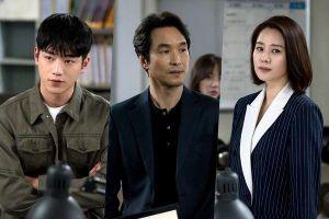 Yoon Kyun Sang hai mặt trong 'Undercover Teacher' - Seo Kang Joon làm cảnh sát chính trực của 'Watcher'