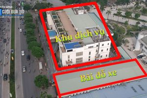 Hà Nội: 'Phù phép' bãi xe công cộng thành trung tâm tiệc cưới