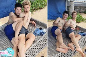 Công Phượng 'thả dáng' nàng tiên cá bên bờ biển, fan nghi ngờ đây là 'hậu quả' sau khi dính cú đá vào chỗ hiểm ở Thái Lan