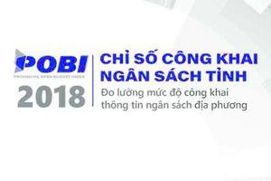 Báo cáo Chỉ số công khai ngân sách tỉnh (POBI) 2018