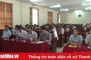 Trung tâm Bồi Dưỡng chính trị huyện Quan Sơn đón Bằng công nhận đạt chuẩn