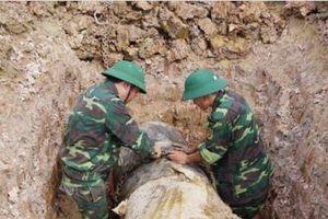 Thanh Hóa: Hủy nổ thành công quả bom nặng 900 kg