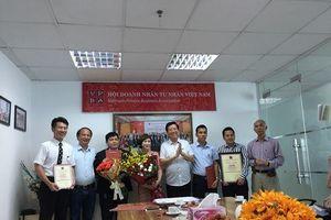 Hội Doanh nhân Tư nhân Việt Nam thành lập Chi hội Doanh nhân Việt - Nhật