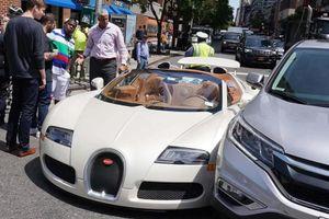 'Bay' gần 5 tỷ vì cú va chạm nhẹ siêu xe Bugatti Veyron với Honda CR-V
