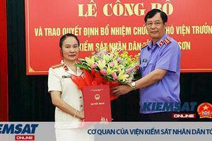 VKSND tỉnh Lạng Sơn có tân nữ Phó Viện trưởng