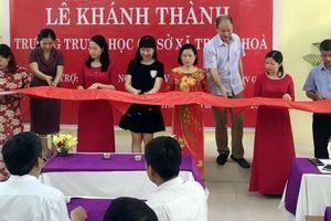 PV GAS khánh thành công trình trường THCS Trung Hòa - Hưng Yên
