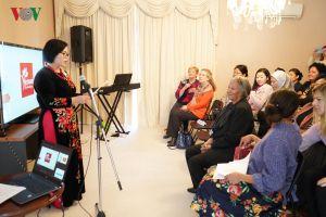 Văn hóa Việt Nam thu hút phu nhân đoàn ngoại giao tại Australia