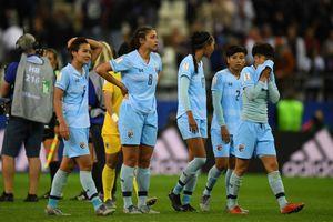 Thua đậm nhất lịch sử World Cup, cầu thủ nữ Thái Lan hoảng loạn và khóc nhiều