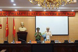 Công bố quyết định bổ nhiệm Trưởng phòng Tổ chức cán bộ Công an Hà Nội