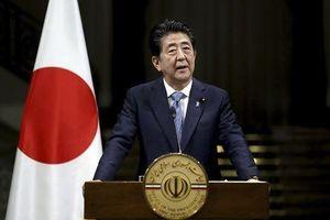 Thủ tướng Shinzo Abe tìm cách xoa dịu căng thẳng Mỹ-Iran