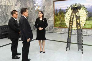 Em gái Kim Jong Un đích thân trao thư chia buồn cho Hàn Quốc