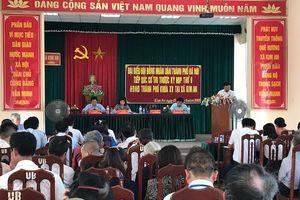 Cử tri huyện Thanh Oai kiến nghị đầu tư xây dựng nông thôn mới