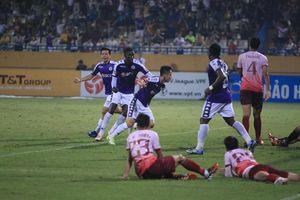 Hà Nội FC có chiến thắng trước Sài Gòn FC trong ngày vắng Quang Hải