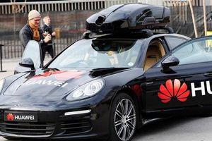 Huawei ra mắt xe tự lái, đỡ đòn cấm của Washington