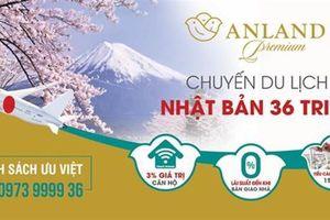 Khách hàng Anland Premium nhận chuyến du lịch Nhật Bản