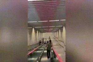 Nhà ga tàu điện ngầm sâu nhất TQ, tương đương tòa nhà 31 tầng