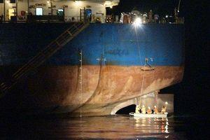 Xuyên đêm cứu thuyền viên nước ngoài bị tai nạn lao động
