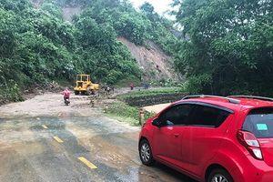 Mưa lớn, sạt lở đất tiếp tục gây thiệt hại tại Cao Bằng