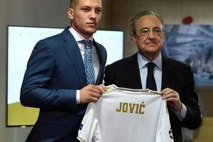 4.500 CĐV Real Madird phát sốt với lễ ra mắt Luka Jovic