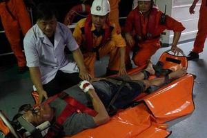 Cứu thuyền viên Philippines gặp nạn trên vùng biển Đà Nẵng