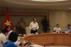 Tổ công tác của Thủ tướng Chính phủ làm việc về xây dựng Chính phủ điện tử
