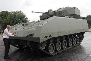 Singapore chính thức trang bị xe chiến đấu nội địa
