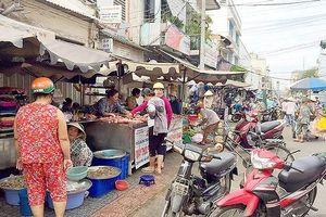 Chấm dứt hoạt động chợ lề đường Cô Giang từ ngày 1-10