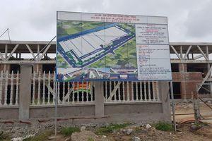 Xây dựng không phép tại Cụm công nghiệp Đoàn Tùng: Ai xử lý?