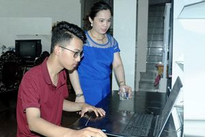 'Thần đồng' Tin học đất Hồng Lam