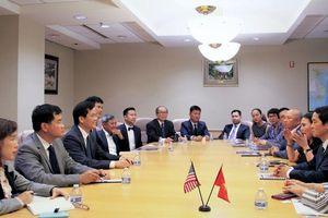 Tọa đàm về kinh nghiệm đầu tư, kinh doanh và kết nối các doanh nghiệp Việt Nam tại Hoa Kỳ