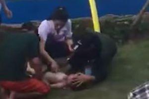 Vụ đuối nước ở công viên nước Thanh Hà: Bé trai đã không qua khỏi