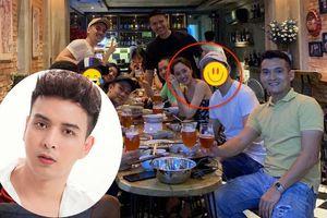 Dương Triệu Vũ để lộ danh tính chàng trai ngồi cạnh Bảo Anh dù đã che mặt vì sơ hở này