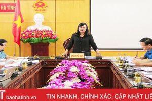 Chỉ số cải cách hành chính TP Hà Tĩnh liên tục đứng đầu khối cấp huyện