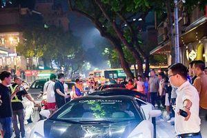 Dàn siêu xe triệu đô náo loạn đường phố Hà Nội