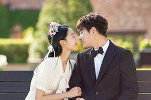 Ảnh cưới lung linh của Shin Hye Sun và L (Infinite) trong 'Thiên thần vô tư'