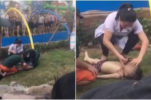 Công viên nước hiện đại nhất Thủ đô bị phạt 20 triệu đồng, yêu cầu dừng hoạt động sau vụ bé trai 2 tuổi đuối nước tử vong