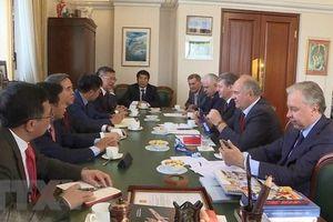 Đoàn đại biểu Đảng ta thăm và làm việc tại Liên bang Nga