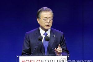 Tổng thống Hàn Quốc muốn gặp lãnh đạo Triều Tiên trước khi ông Trump thăm Seoul
