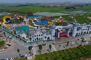 Toàn cảnh công viên nước Thanh Hà mới khai trương đã có trẻ bị đuối nước