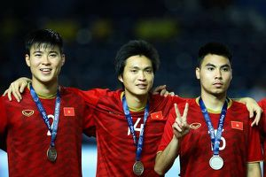 ĐT Việt Nam lên hạng 15 châu Á, vào nhóm 2 vòng loại World Cup 2022