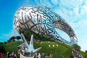Bảo tàng được ghép từ hàng nghìn tam giác thép ở Dubai