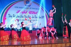 Tổ chức Hội thi Tiếng hát Công chức viên chức lao động