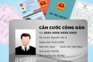 Cấp đổi thẻ Căn cước công dân phải mang theo giấy tờ gì?