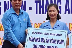 CÔNG ĐOÀN DỆT MAY VIỆT NAM: Hơn 3,6 tỉ đồng chăm lo cho công nhân
