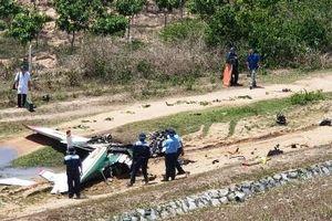 Danh tính hai phi công hy sinh vụ máy bay huấn luyện rơi ở Khánh Hòa