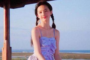 Lộ ảnh thời niên thiếu của 'tượng đài nhan sắc' Lưu Diệc Phi