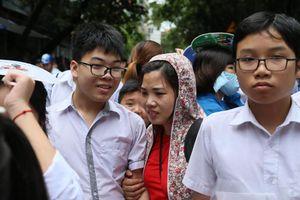 Điểm thi lớp 10 Hà Nội sẽ công bố chiều nay 14.6.2019